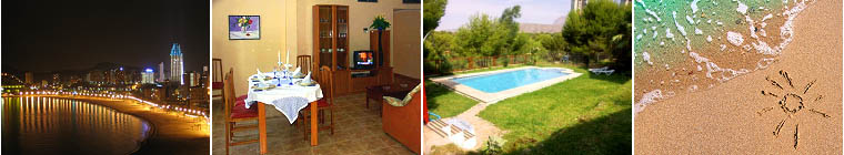 Benidorm Holiday Rental: Apartments, holiday homes in Spain. Benidorm, Costa Blanca
